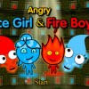Angry Icegirl and Fireboy Game