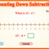 Counting Down Subtraction Game