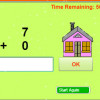 Mad Minute Math Addition Game