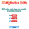 Multiplication Drills Game