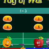 Tug of war addition game