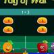 Tug of war addition game